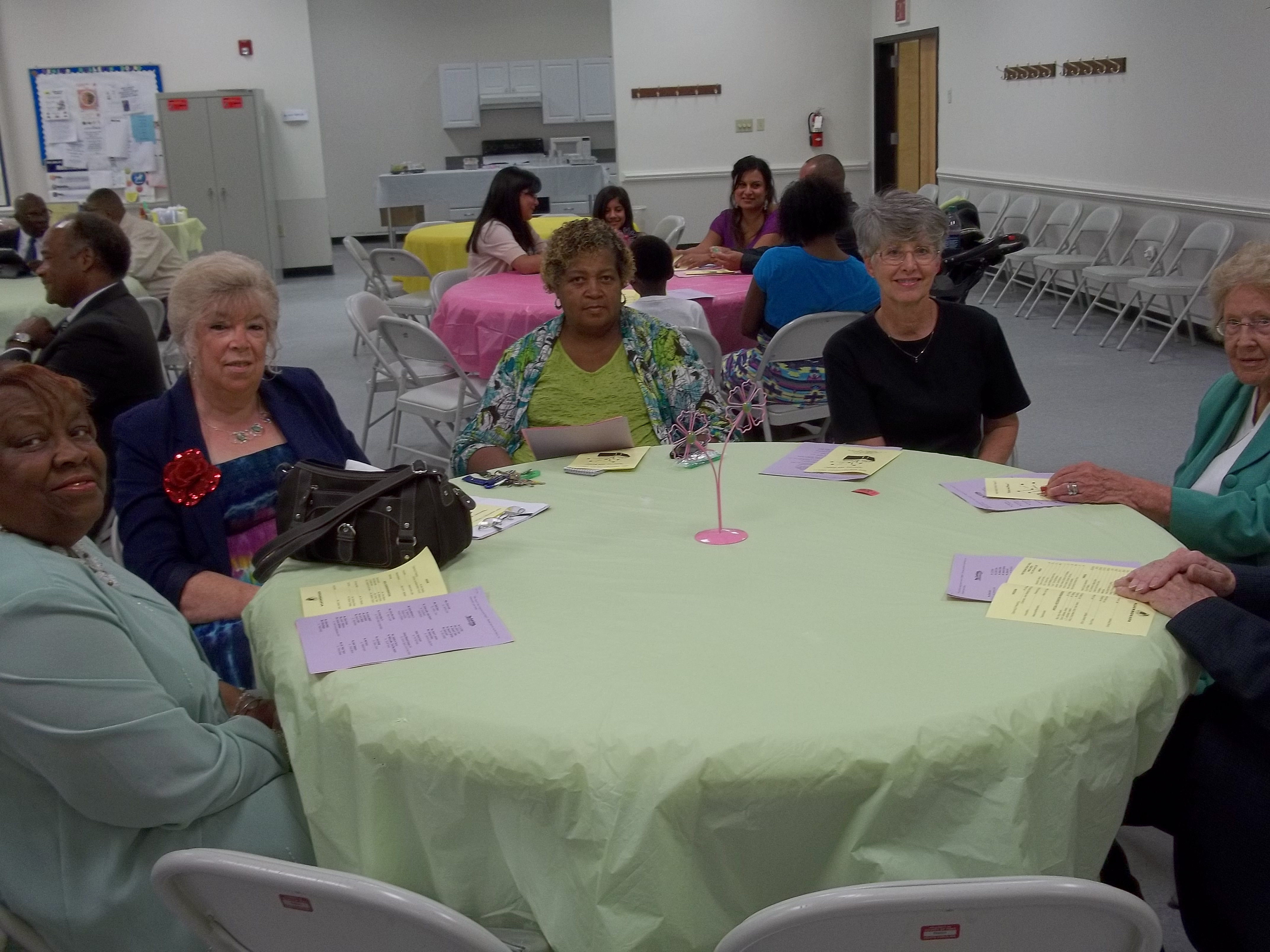 Guests at Literacy Sunday